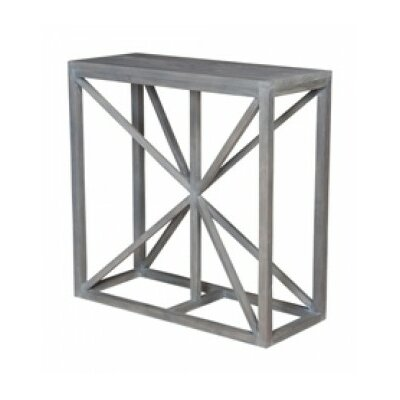 Hiep Console Table Color: Waxed Gray