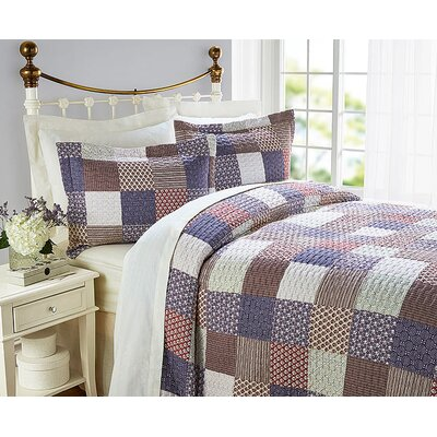 Diana Cowpe Orlagh Quilted Bedspread Set