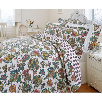 Diana Cowpe Indian Tree Quilted Bedspread Set