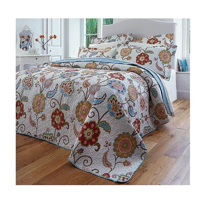 Diana Cowpe Jasmin Quilted Bedspread Set