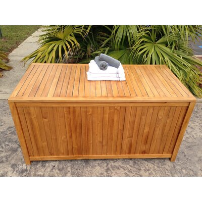 Santa Barbara Teak Deck Box