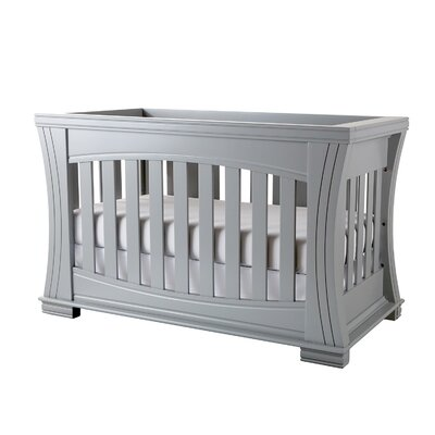 Island 4-in-1 Convertible Crib Color: Moon Gray