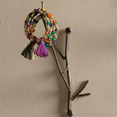 Wray Metal Twig Wall Hook