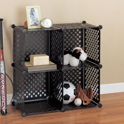 "Organize It All Perforated Cube 30.25"" Shelving Unit"