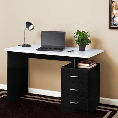 Desk Finish: Black/White