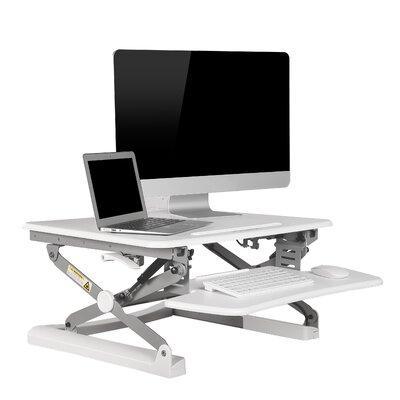 Standing Desk Converter Color: White