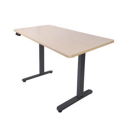 "48.4"" H x 63"" W Desk Base Finish: Silver"