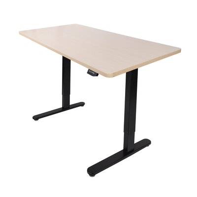 Electric Standing Desk Color: Maple