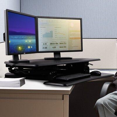 Standing Desk Converter Color: Black
