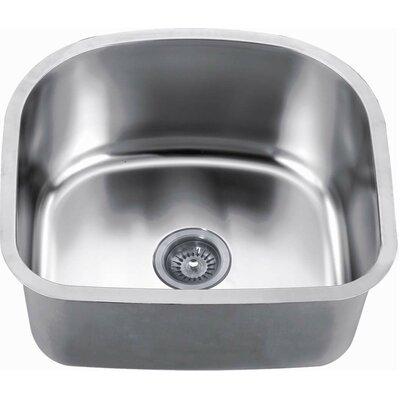 """22"""" L x 20"""" W Undermount Kitchen Sink"""