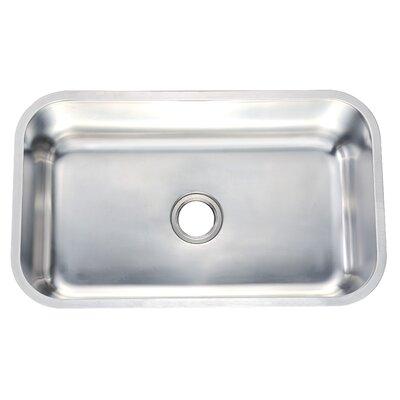 """30"""" L x 18"""" W Undermount Kitchen Sink"""