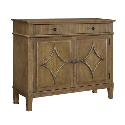 Joy 2 Door Accent Cabinet Color: Fruitwood Jacobean