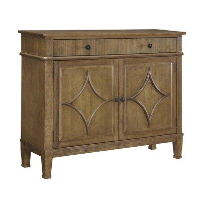 Joy 2 Door Accent Cabinet Color: Fruitwood Jacobean
