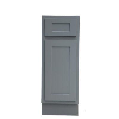"Heyward Single Bathroom Vanity Base Color: Gray, Size: 32.5"" H x 15"" W x 21"" D"