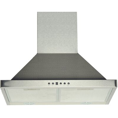 "30"" 450 CFM Ducted Wall Mount Range Hood"