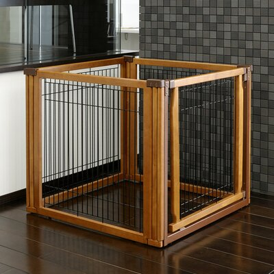 Richell Convertible Elite 4 Panel Pet Gate