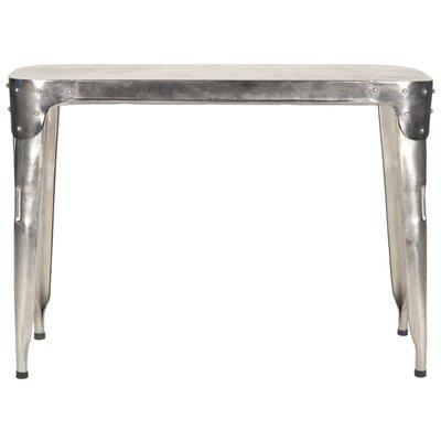 Fox Classic Console Table Color: Dark Ant Silver