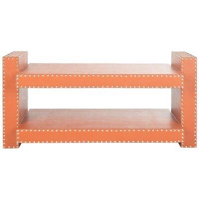 Garson Console Table Color: Orange