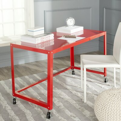 Bentley Portable Writing Desk Color: Red