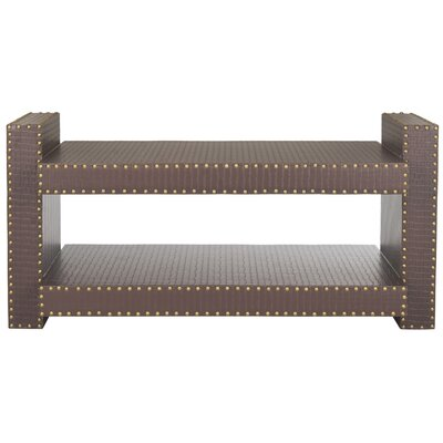 Garson Console Table Color: Brown