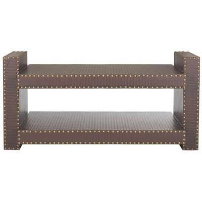Garson Console Table Color: Brown