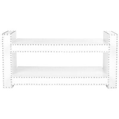 Garson Console Table Color: White