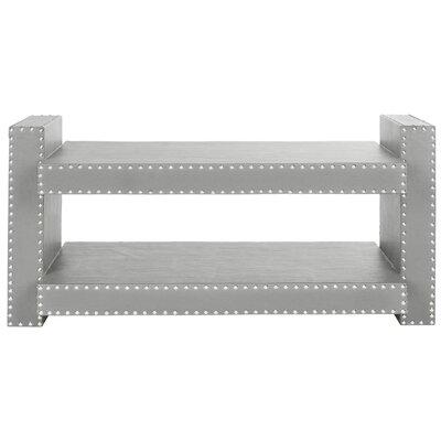 Garson Console Table Color: Grey
