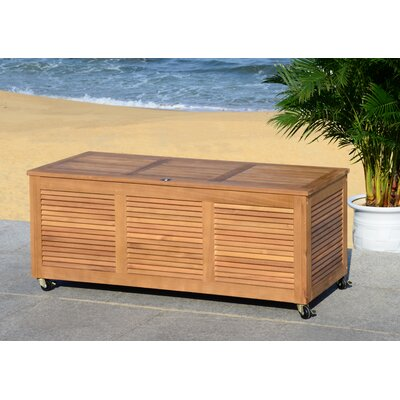 Elina Eucalyptus Deck Box Color: Natural