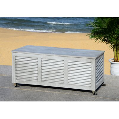 Elina Eucalyptus Deck Box Color: Gray