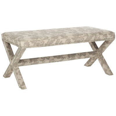 Melanie Bench Color: Taupe