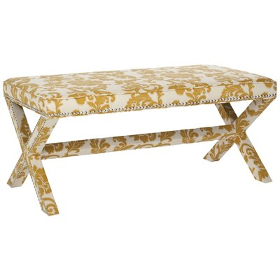 Melanie Bench Color: Maize