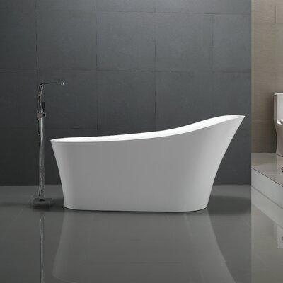 Maple Series 67'' x 31'' Freestanding Soaking Bathtub