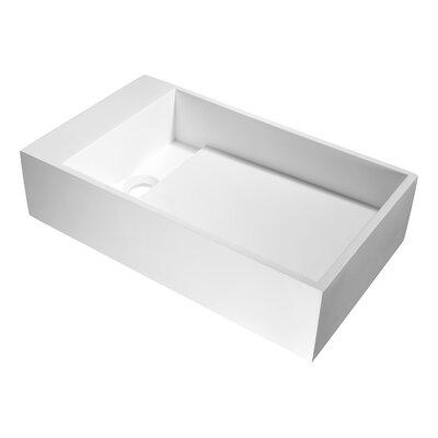 Pascal Rectangular Vessel Bathroom Sink