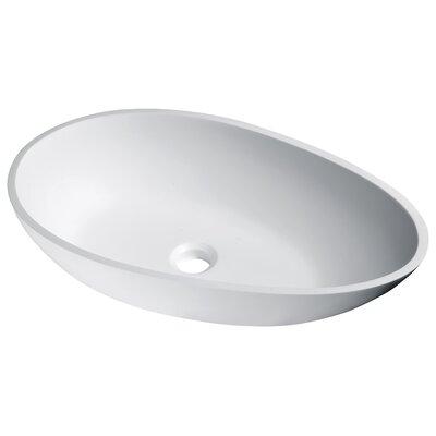Anoda Oval Vessel Bathroom Sink