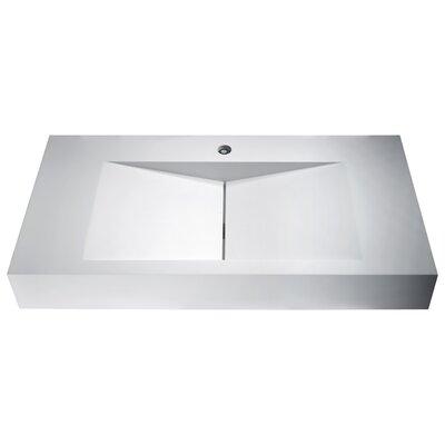 Althea Rectangular Vessel Bathroom Sink
