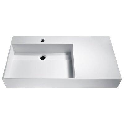 Urena Rectangular Vessel Bathroom Sink