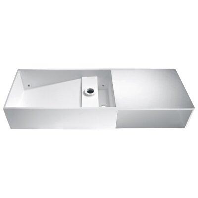 Harmsia Rectangular Vessel Bathroom Sink