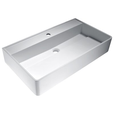 Tilia Rectangular Vessel Bathroom Sink