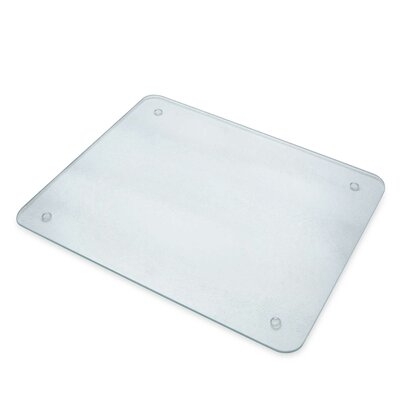 "Glass Cutting Board Size: 12"" H x 15"" W"