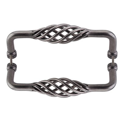 "8"" Center Birdcage Pull Finish: Pewter"