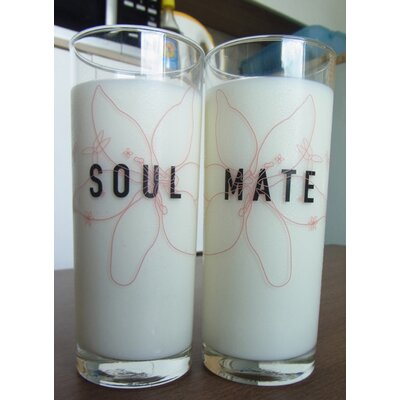 SoulMate Couple 13.5 oz. Drinking Glass