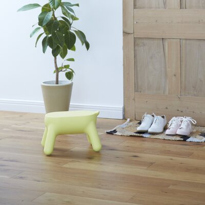 Accent Stool Color: Lemmon Yellow