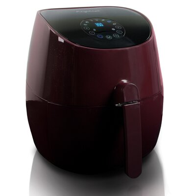 3.3 Liter Air Fryer and Multi Cooker with 7 Pre-Programmed Settings Color: Burgundy