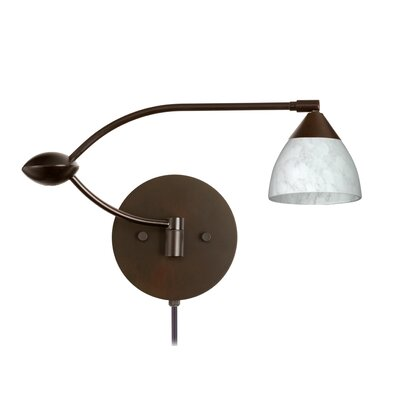 Besa Lighting Divi Double Swing Arm Wall Sconce