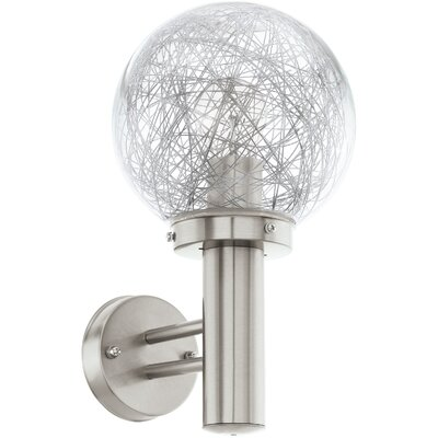 Eglo Nisia 1 Light Outdoor Sconce