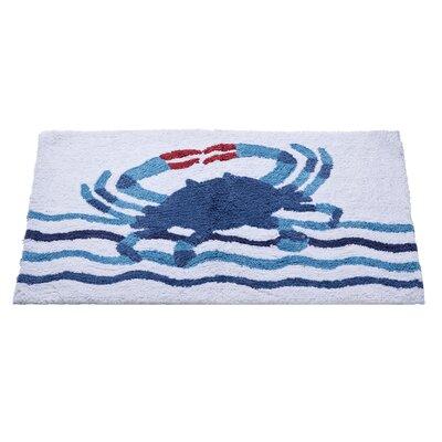 Floating Crab Bath Rug