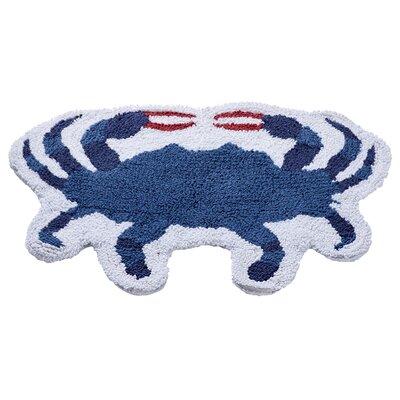 Crab Reversible Bath Rug