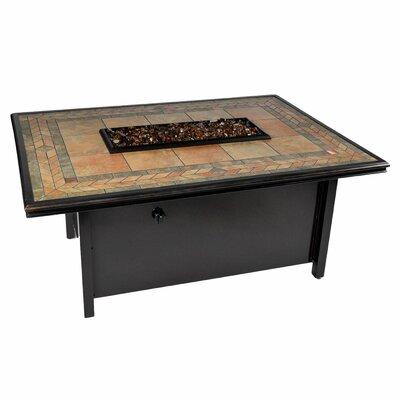 Panama Aluminum Propane Fire Pit Table