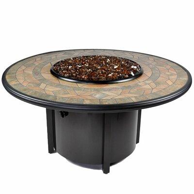 Venice II Aluminum Propane Fire Pit Table