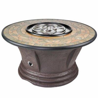 Havana II Resin Propane Fire Pit Table